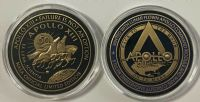 NEW Apollo 13 50 Years Minted With Flown To The Moon (Black)